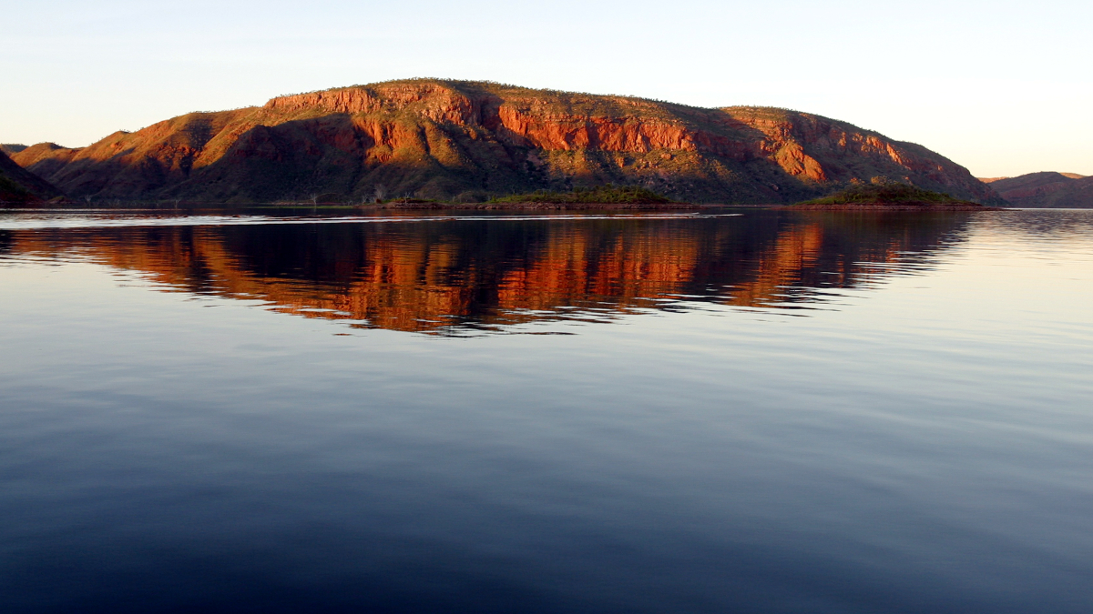 Photograph of Lake Argyle