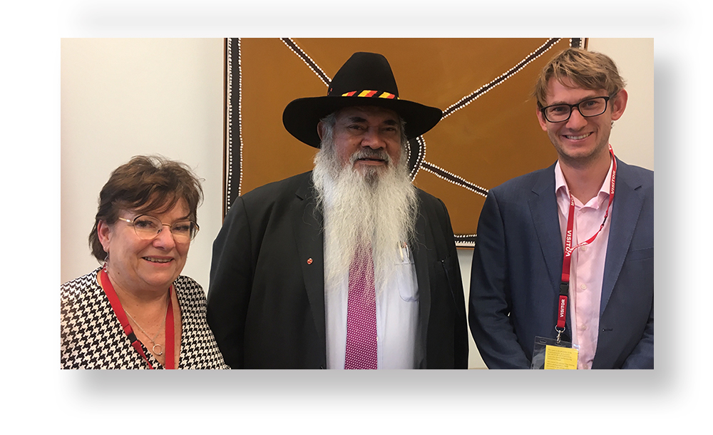 Photos from Meetings in Canberra